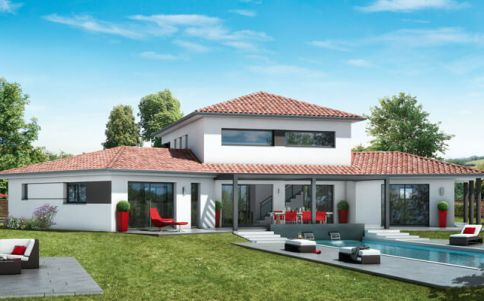 Maison contemporaine : plan maison contemporaine gratuit ...