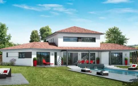 Maison contemporaine plan maison contemporaine gratuit plan 3d for Photo de plan de maison