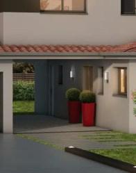 Maison contemporaine Ambre avec patio couvert