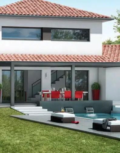 Plan Maison Contemporaine Ambre Plan Maison 3d