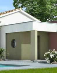 maison toit plat - maison contemporaine Angélique