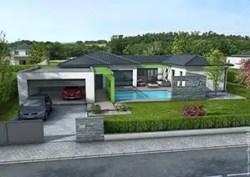 Maison contemporaine Olivine