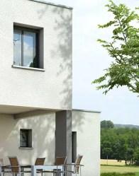 Plan maison toit plat Opaline - maison contemporaine