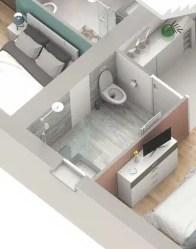 Salle de bain PMR - Plan maison double Infinity