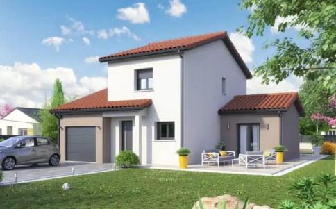 Maison individuelle Ecrin - plan maison