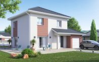 Plan maison individuelle à étage - modèle Iseran