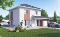 maison individuelle ISERAN - avec porche