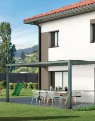 Maison individuelle Lauzière - terrasse