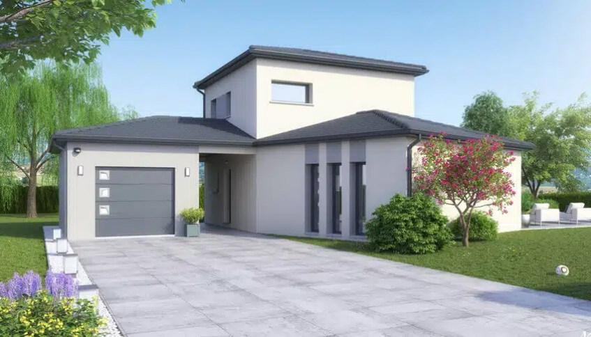 Plan maison Lumio - version contemporaine