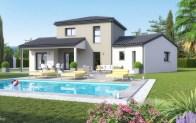 maison moderne SWAG - vue jardin