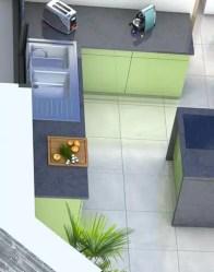Plan maison 3D Bauges - maison moderne