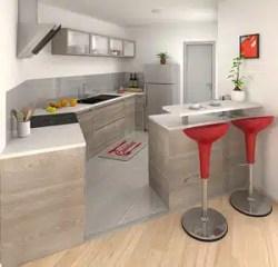 Maison moderne Iris - vue cuisine ouverte