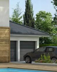 Double garage - maison familiale Mont Blanc