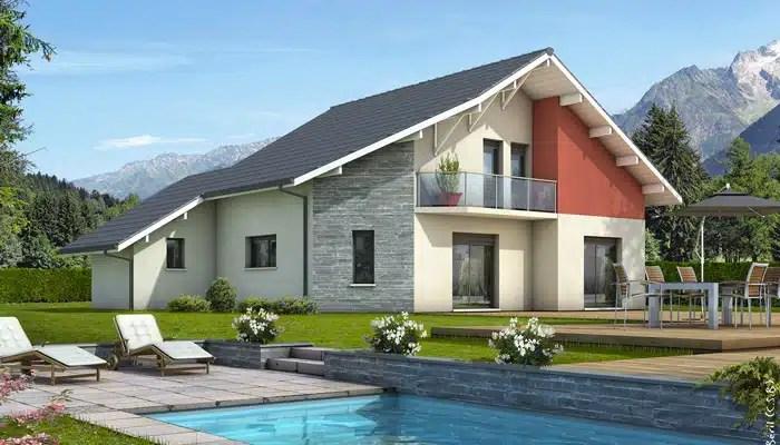 Plan de maison moderne MontRevard  plan maison gratuit