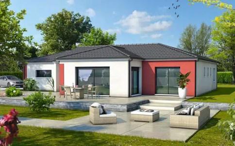 Maison moderne Zéphyr - plan maison 3D
