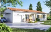 maison plain-pied AMARYLLIS - version 2 pans