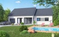 Maison plain pied Pivoine - plan maison