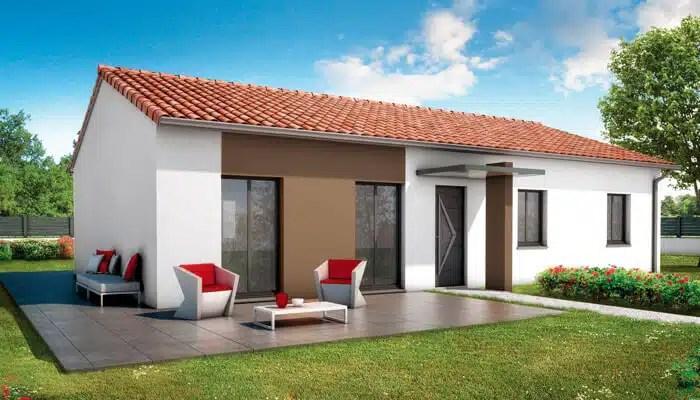 plan maison plain pied Bali