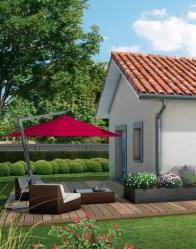 Maison plain-pied Bugey - terrasse
