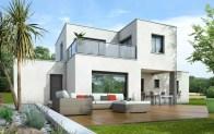 maison toit plat OPALINE - plan maison