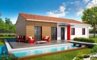 Plan maison plain pied Bali - plan gratuit