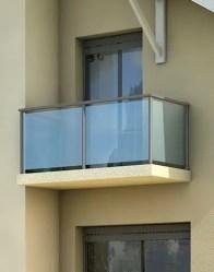 Maison modulaire - balcon