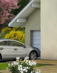 maison individuelle Belledonne - garage intégré