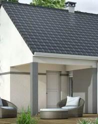 maison individuelle Eglantine - terrasse couverte