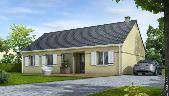 maison traditionnelle Eglantine - maison plain pied