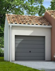 Maison individuelle avec garage décalé