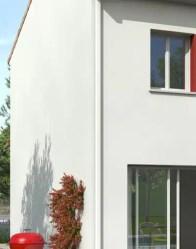 Maison individuelle Mimosa - gouttière aluminium
