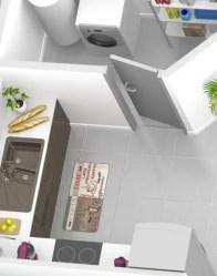 Plan maison 3D - maison sur sous-sol