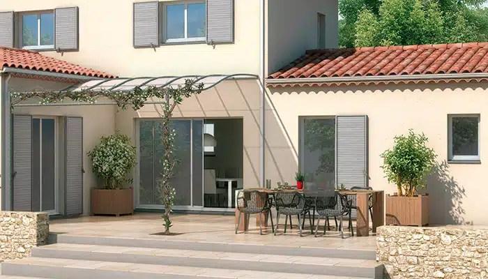 Maison provençale Orchidée - plan maison gratuit