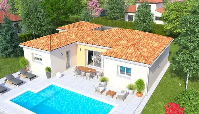 Maison moderne Summer - vue jardin
