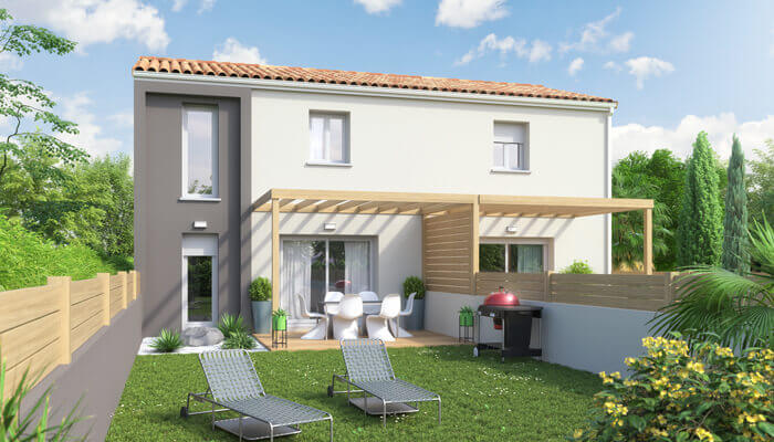 Plan maison double Influence - MCL Invest