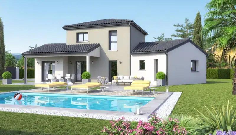 Maison moderne tage swag plan maison gratuit maisons clair logis - Exemple plan maison moderne ...