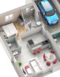 Plan maison PMR EssentieL