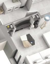 Plan maison Touch - Niche en placo