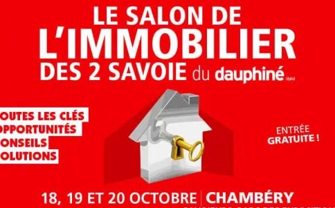 salon immobilier des 2 Savoie Chambéry