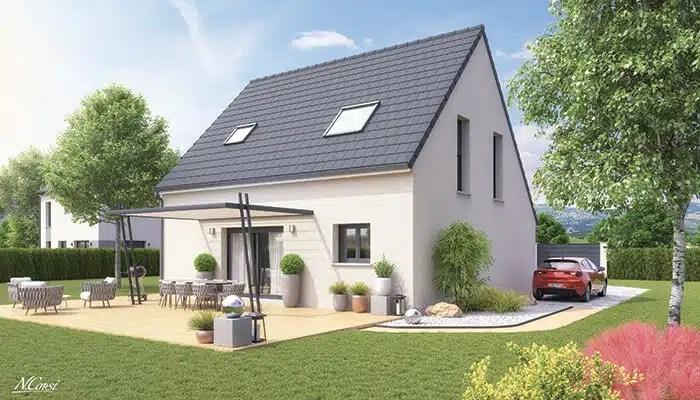 Maison individuelle Solaro - jardin