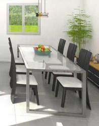 vue 3D séjour - maison individuelle Lauzière