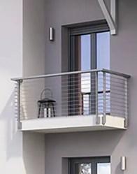 Maison individuelle Belledonne - Chambre avec balcon