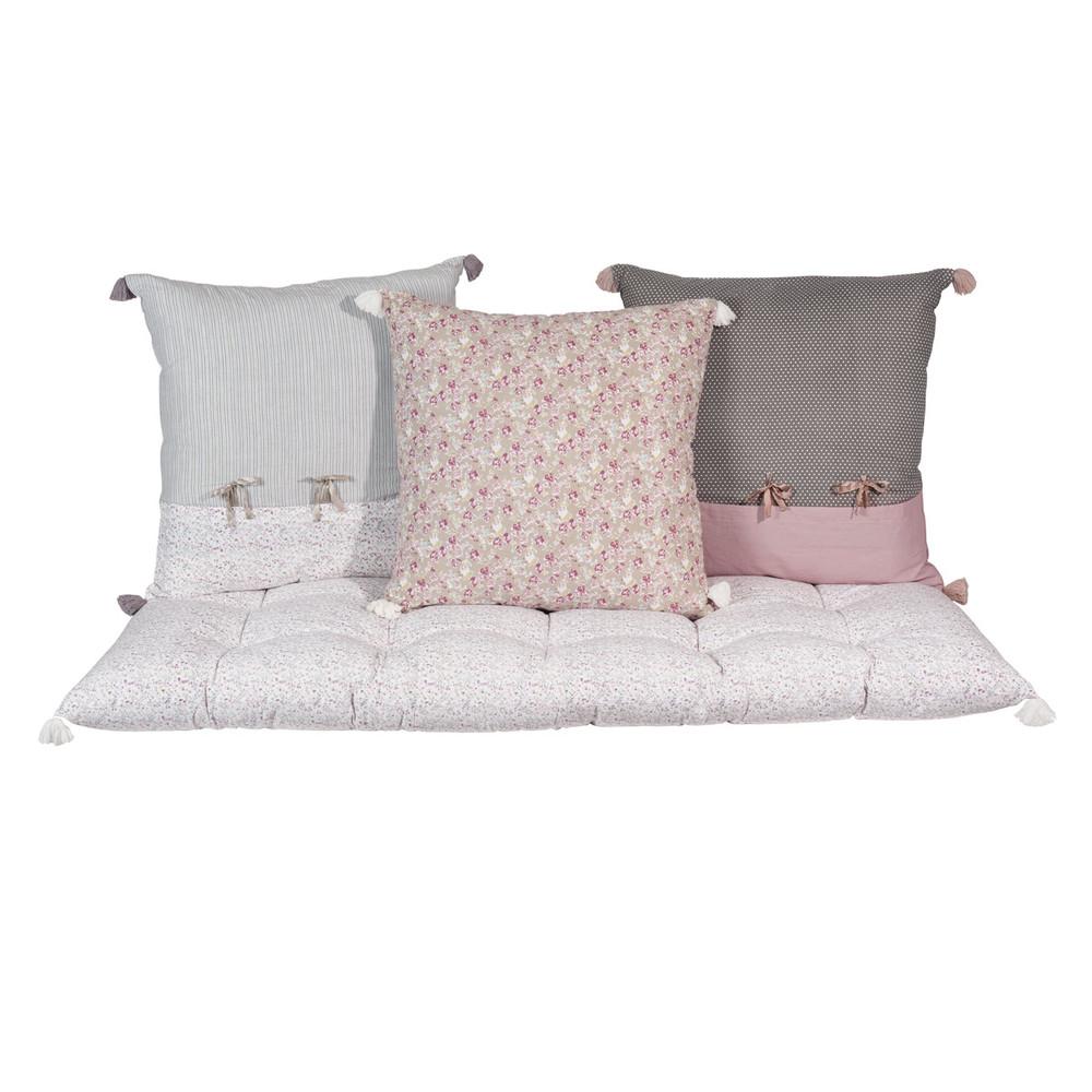 3 cuscini  materasso in cotone Pimprenelle  Maisons du Monde