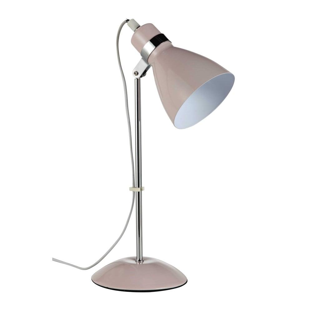 Lampe de bureau en mtal rose H 38 cm PIX  Maisons du Monde