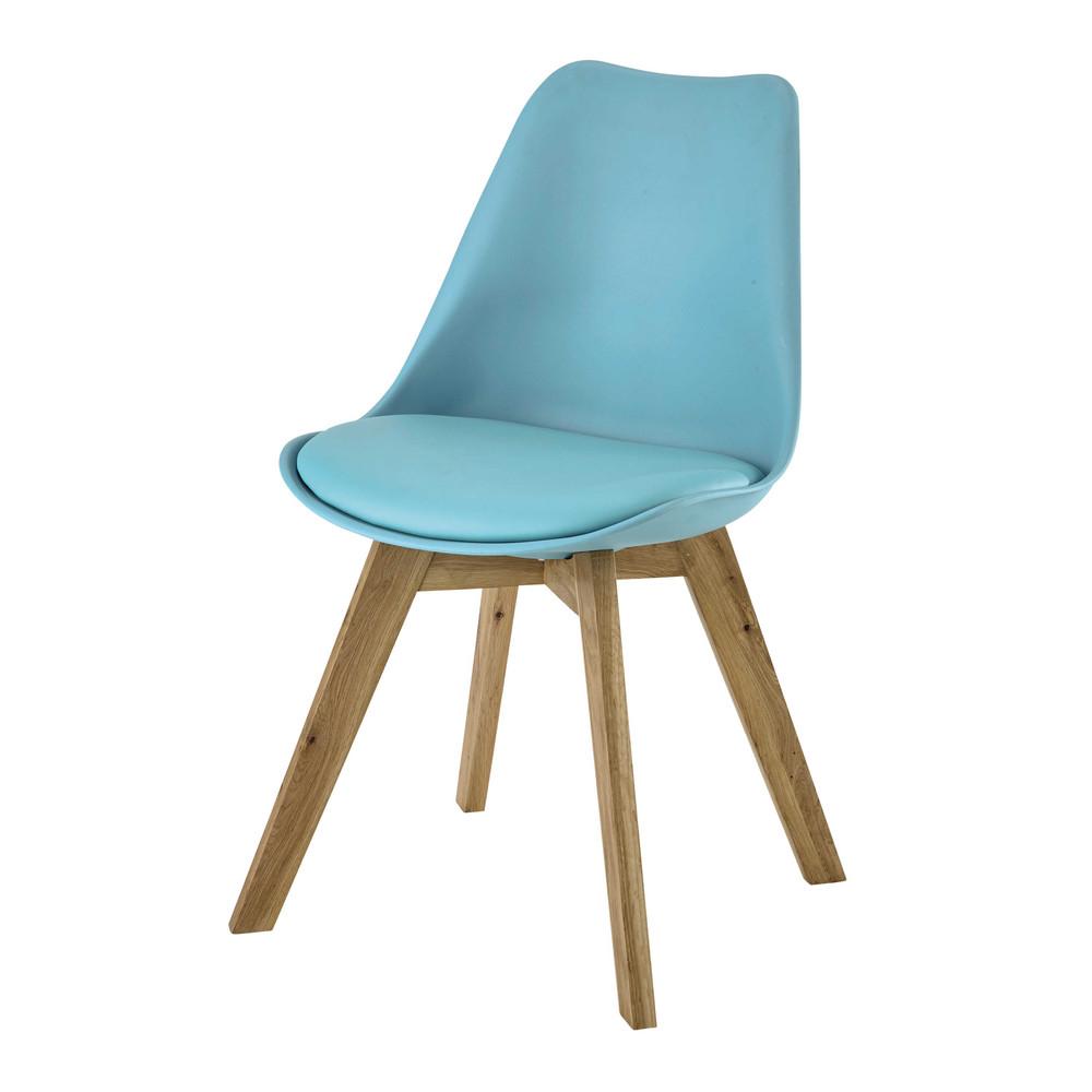 ScandinavianStyle Chair in Blue Ice  Maisons du Monde