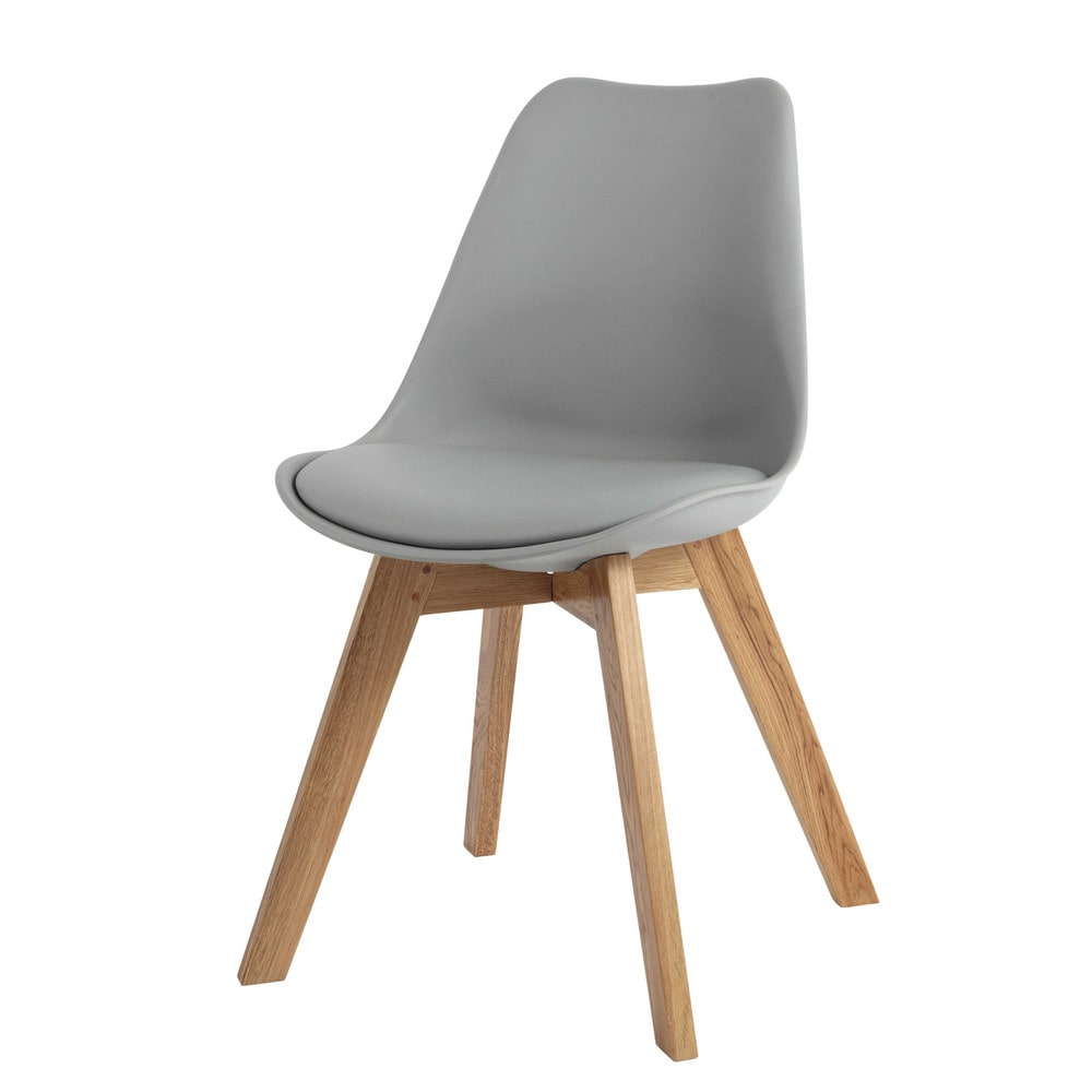 ScandinavianStyle Chair in Grey Ice  Maisons du Monde