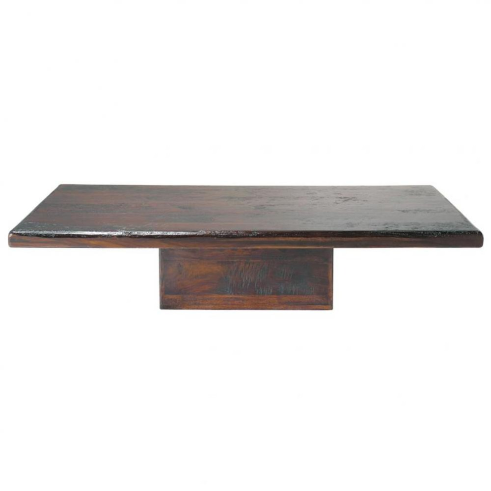 Table basse en bois de sheesham massif L 150 cm Chandernagor  Maisons du Monde