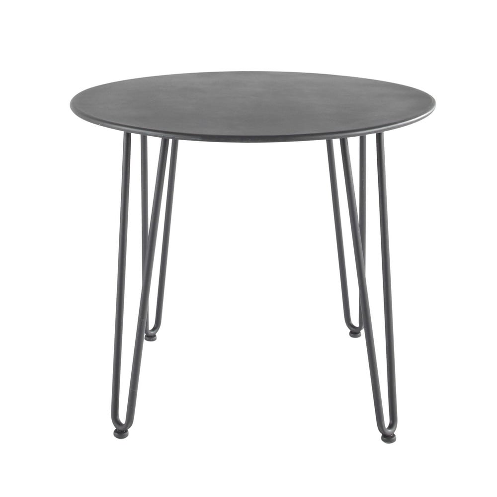 Emejing petite table de jardin d occasion ideas amazing for Table jardin metal gris