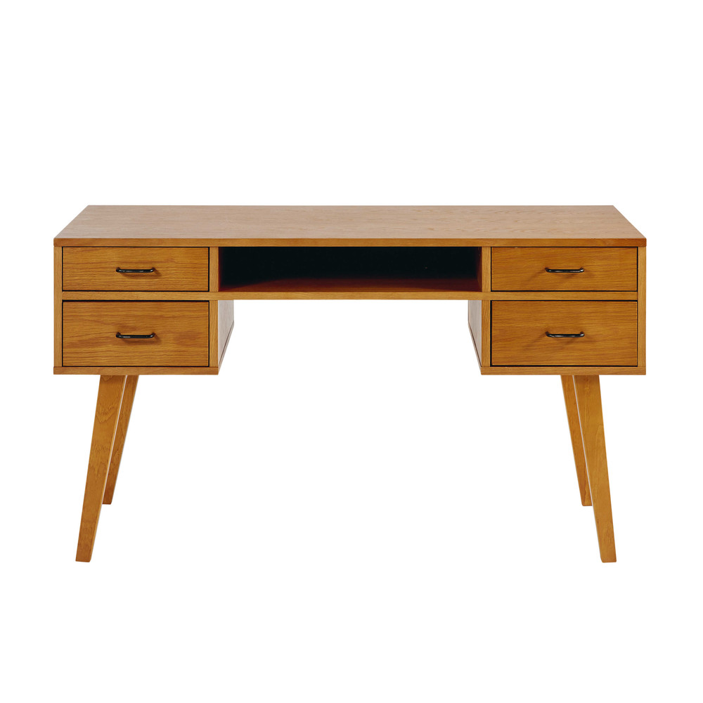 Schreibtisch Mit Schubladen Schreibtisch Wei Mit