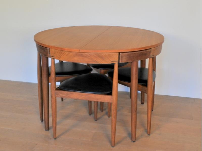 table chaise hans olsen scandinave